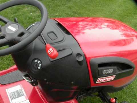 Sears Craftsman Yt 3000 Lawn Tractor Problems With Hood