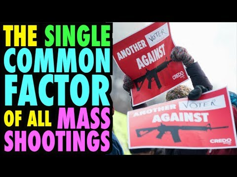 One Common Factor of ALL Mass Shootings!