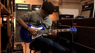 Epiphone Les Paul Tommy Thayer Electric Blue