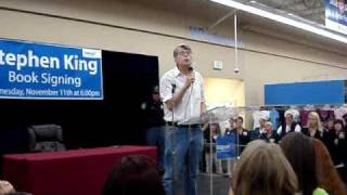 Stephen King Under The Dome Book Signing - Dundalk, Md 11/11/09