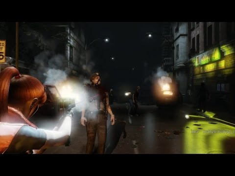 Resident Evil 2 Remake -fan UDK game OTS style- ClaireA/LeonB
