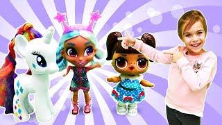 Лол Распаковка куклы HairDorables - Куклы Лол - Мультики для девочек