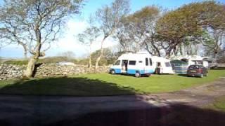 Parc Isaf campsite in Dyffryn Ardudwy Wales