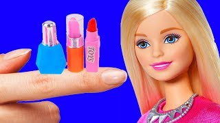 DIY Barbie Miniature Crafts and Hacks | Barbie Doll Miniature Ideas for Kids