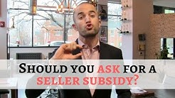 Should You Ask for Buyer Closing Costs? | Seller Subsidy Tips When Writing Real Estate Contract