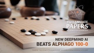 New DeepMind AI Beats AlphaGo 100-0 | Two Minute Papers #201