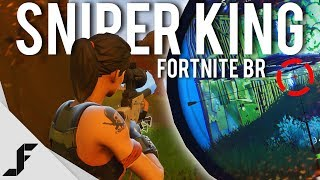 SNIPER KING - Fortnite Battle Royale 4K 60FPS