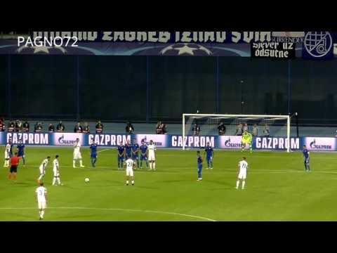 Dinamo Zagabria Vs JUVENTUS  Goal Dani Alves 0-4