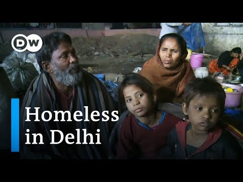 India: Many homeless in Delhi choose cold streets over shelters | DW News
