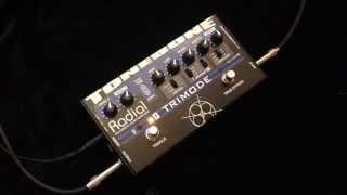 Radial Tonebone Trimode Overdrive Distortion Pedal Demo