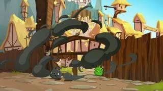 Злые птички - Энгри Бердс - Миллион роз для Матильды (S1E48) || Angry Birds Toons