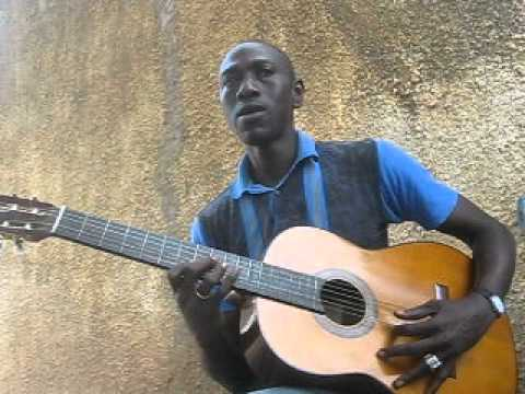 guitar teacher from the gambia - west africa