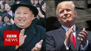 Trump-Kim summit set for Singapore - BBC News