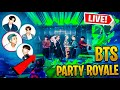 *NEW* FORTNITE BTS DYNAMITE PARTY ROYALE LIVE CONCERT EVENT! Ft. FORTNITE X BTS (FREE REWARD)