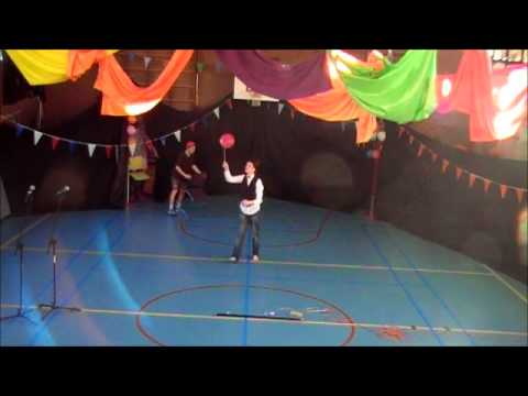 Calo - Circus voorstelling 1P 2013-2014