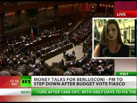 Addio Silvio! Berlusconi to bow out after budget vote fiasco