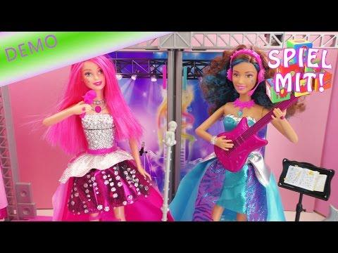 Barbie Prinzessin im Rockstar Camp Showtanz – Courtneys und Erikas Bühne für den großen Auftritt