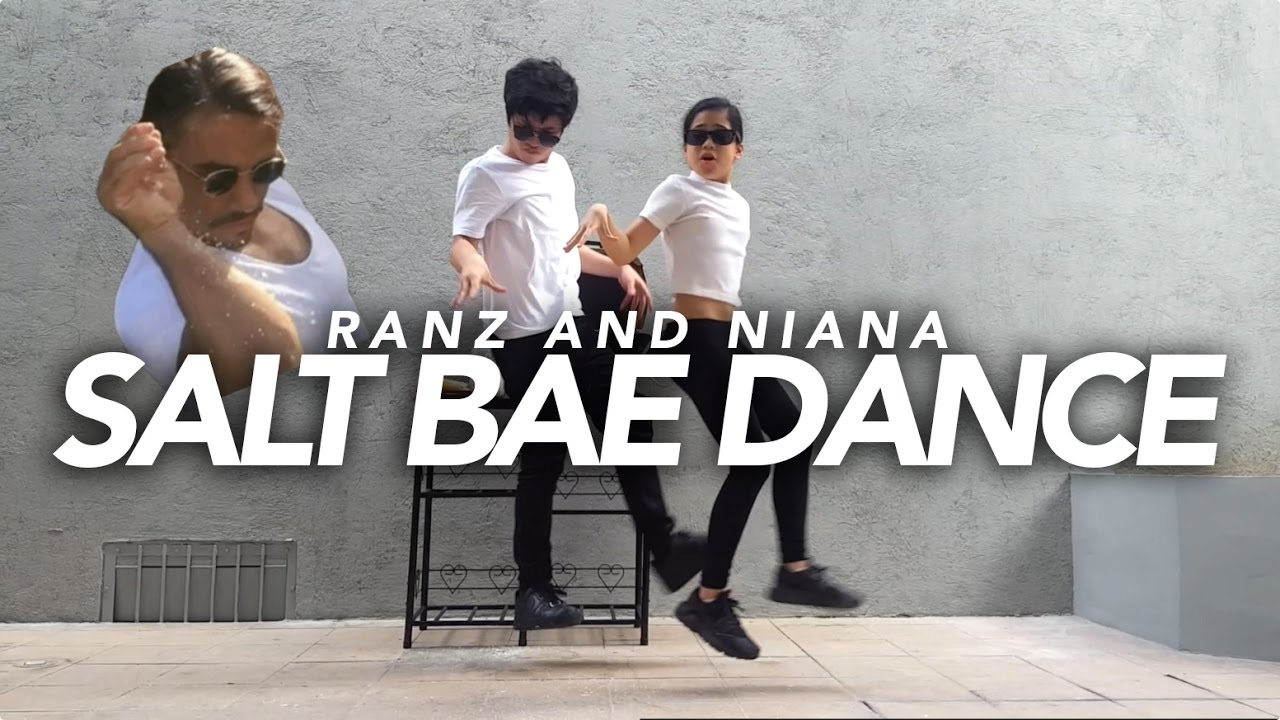 Salt Bae Dance | Ranz and Niana