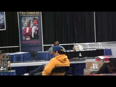 Lonely Virgil at Wrestlecon