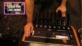 Moog Taurus 3 Bass Pedals Dubstep Demo