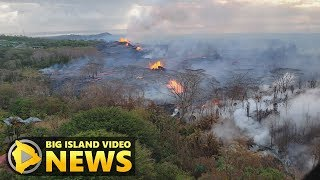 Hawaii Volcano Eruption Update - Tuesday Afternoon (May 22, 2018)