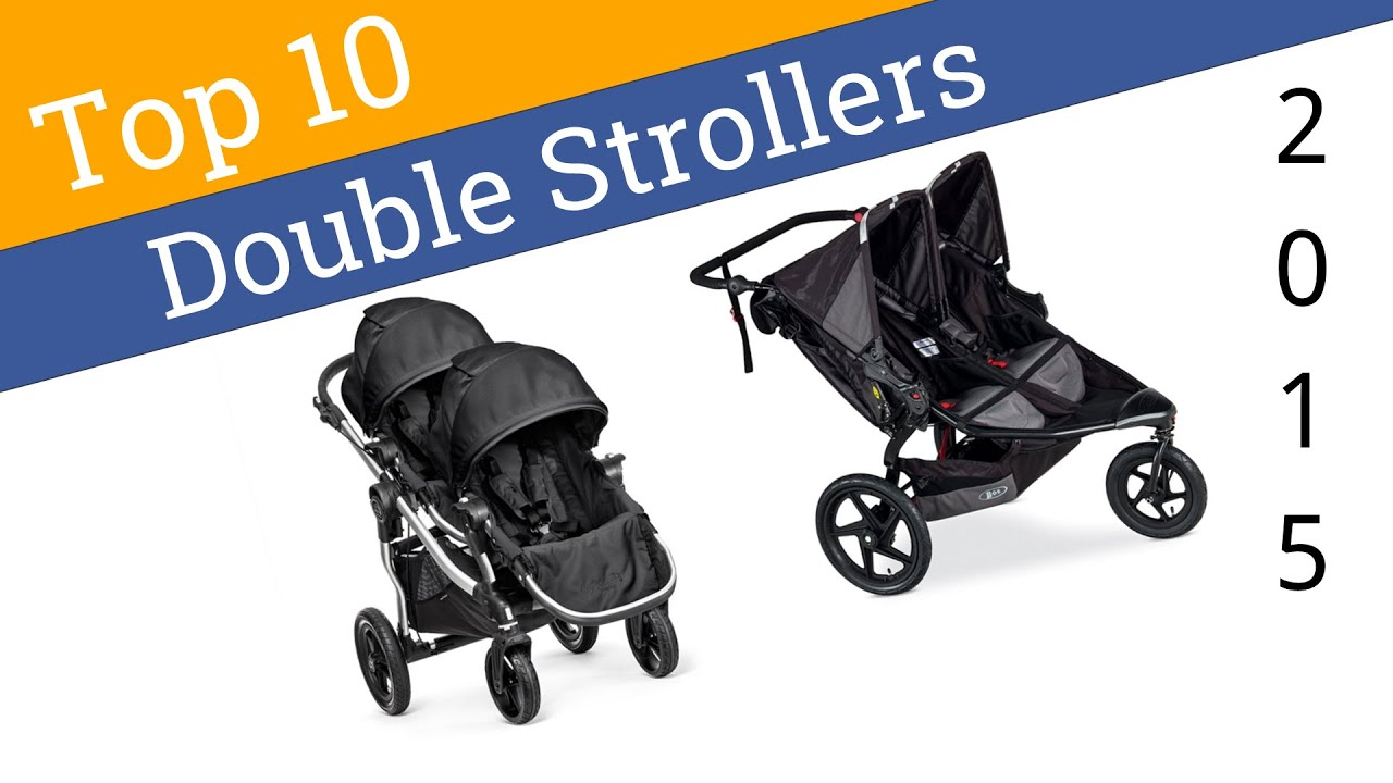 10 Best Double Strollers 2015 - YouTube