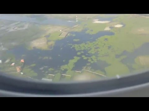 Landing at Dhaka Shah Jalal ZIA International Airport in Bangladesh