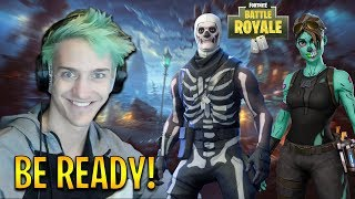 Ninja Says That The HALLOWEEN Update is Gonna Be AMAZING!  | Fortnite Highlights & Funny Moments