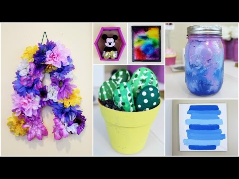 6 CHEAP & EASY DIY SUMMER ROOM DECOR IDEAS | PINTEREST INSPIRED