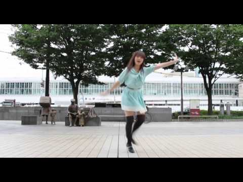 【宮島愛夏】 GIFT 【富山・富山駅前】 とやまde踊ってみた