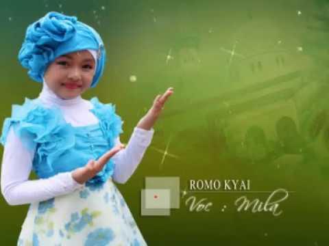 lagu sholawat anak-anak- ROMO KYAI- VOC. MILA- MARINDA RECORD