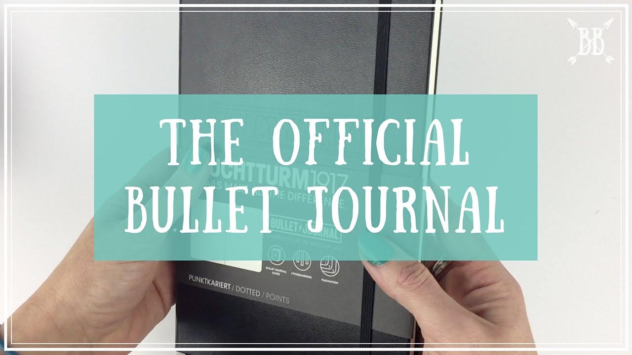 The Official Bullet Journal Notebook