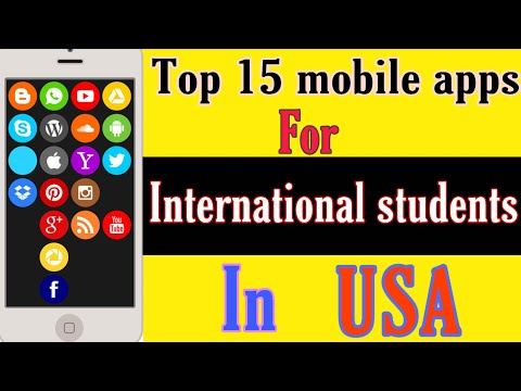 Top 15 mobile apps for international students in USA | Ms in US