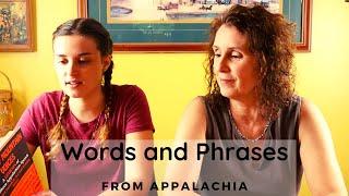Words from Appalachian Language