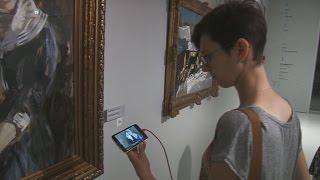 Видеогид на жестовом языке в Музее русского импрессионизма. С субтитрами