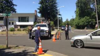 Oregon school shooting: Emilio Hoffman's family gathers outside house in Troutdale
