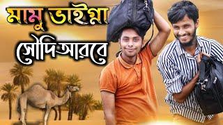 সৌদি আরবে মামু ভাইগ্না | Bangla Funny Video | Family Entertainment bd |  Comedy Video | Desi Cid