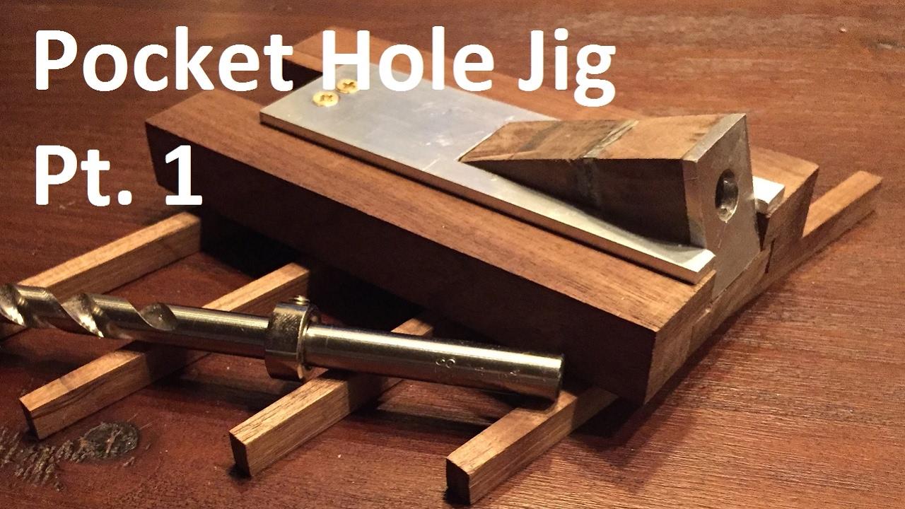Homemade Pocket Hole Jig : Making a pocket hole jig part youtube