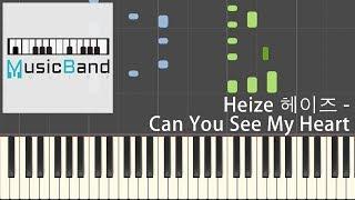[琴譜版] HEIZE - Can You See My Heart - Hotel Del Luna OST P5 - Piano Tutorial 鋼琴教學 피아노 [HQ] Synthesia