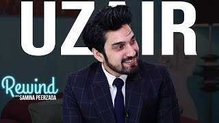 From Being a Clingy Kid to a Romantic Hero | Uzair Jaswal on Rewind with Samina Peerzada