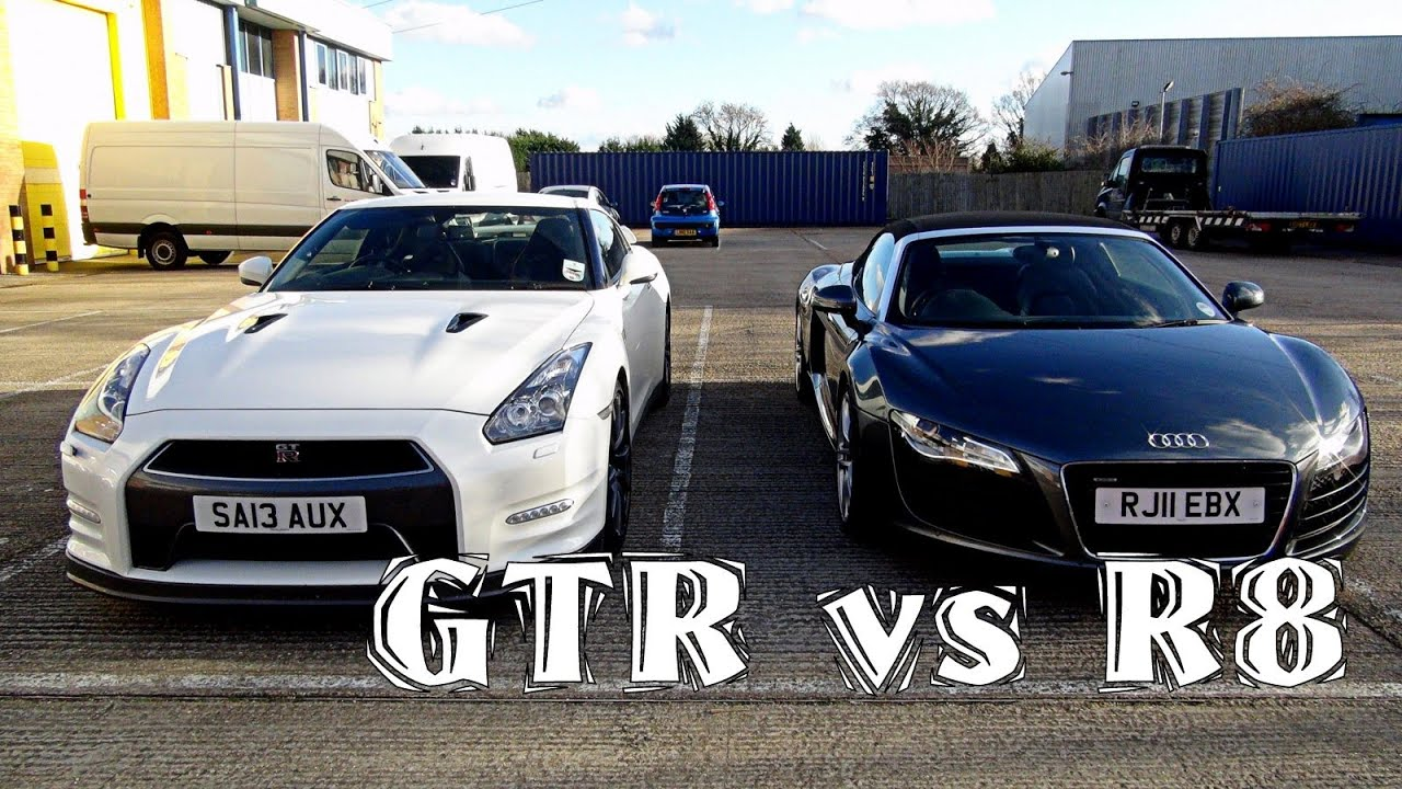 My First Supercar Audi Vs Nissan Gtr Youtube