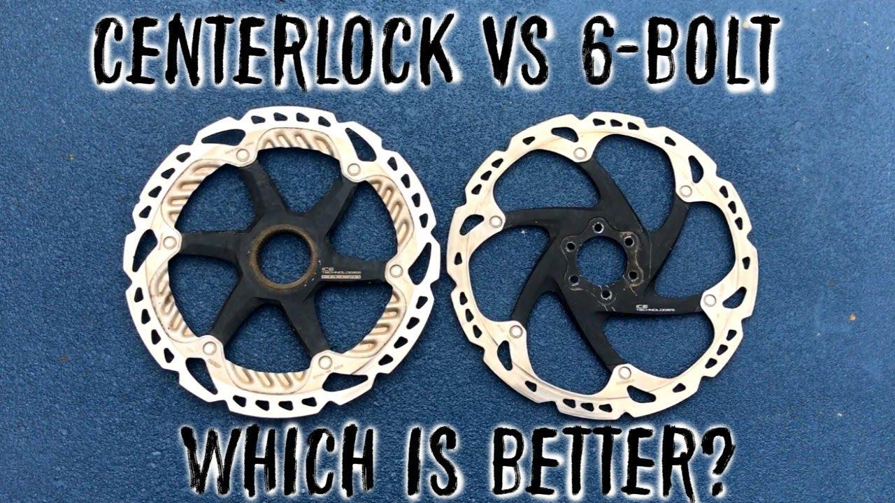 Centerlock Vs 6 Bolt Brake Rotor Comparison