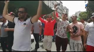 هتافات الجمعة 24 بالجزائر: أهو جاي أهو جاي العصيان المدني