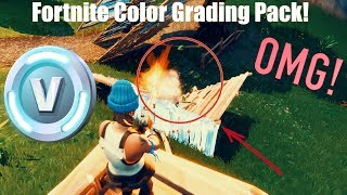 Fortnite Editing Pack (Color Grading Pack LUTs)