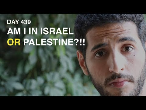 AM I IN ISRAEL OR PALESTINE | Nas Daily