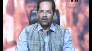 Congress Is Speaking The  Language Of Taliban- Naqvi