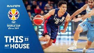 Uruguay v USA - Highlights - FIBA Basketball World Cup 2019 - Americas Qualifiers