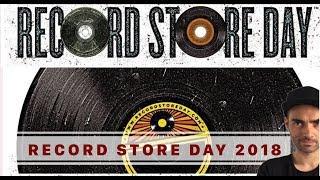 Record Store Day 2018. Resumen de lanzamientos.