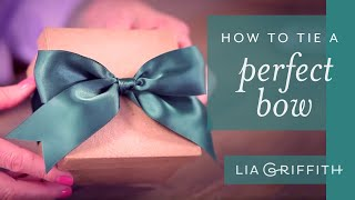 How to Tie a Perfect Bow (NEW VERSION)