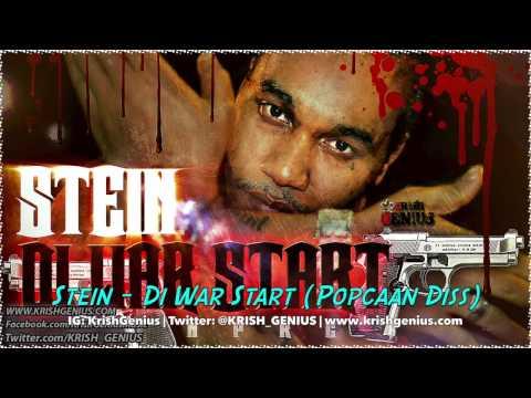 Stein  Di War Start Popcaan Diss November 2013